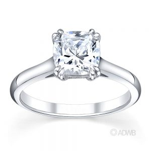 Australian Diamond Broker - Corsica round brilliant cut diamond solitaire ring