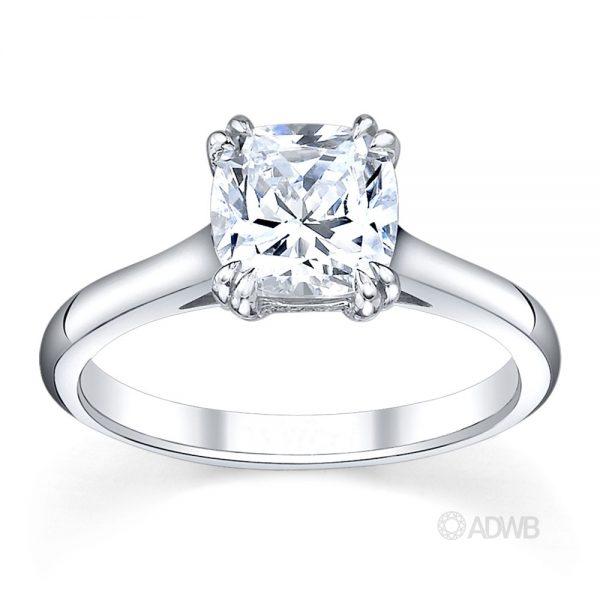 Australian Diamond Broker - Corsica round brilliant cut diamond solitaire ring