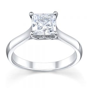 Australian Diamond Broker - Royal crown princess cut diamond ring