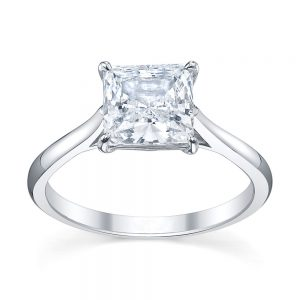 Australian Diamond Broker - Serenity Princess cut diamond ring