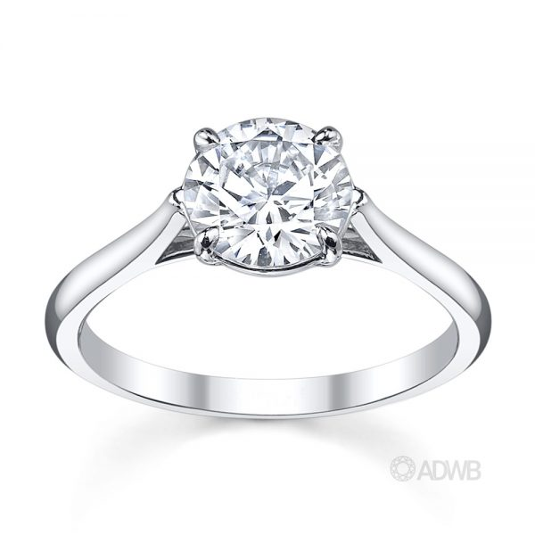 Australian Diamond Broker - Serenity round brilliant cut diamond ring