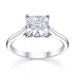 Australian Diamond Broker - Tiara princess cut diamond ring