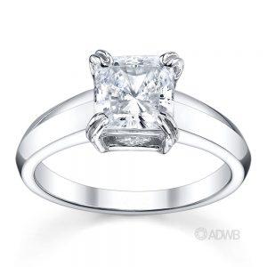 Australian Diamond Broker - Surprise princess cut diamond ring