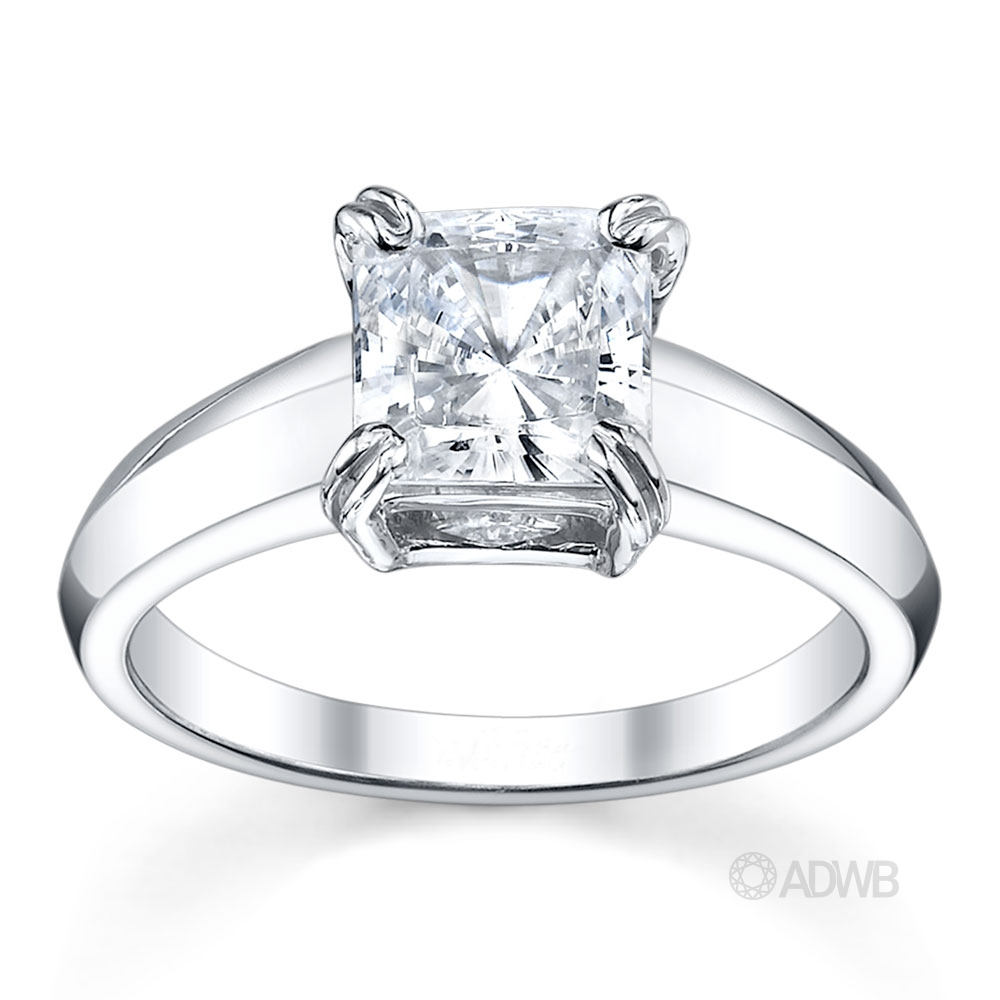 Australian Diamond Broker - Surprise princess cut diamond ring