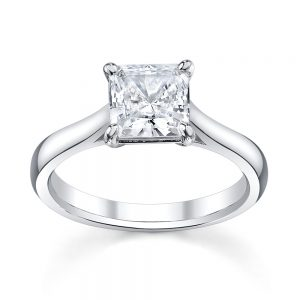 Australian Diamond Broker - Classic princess cut diamond ring