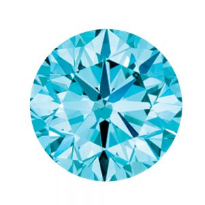 Australian Diamond Broker - Aqua blue coloured diamond