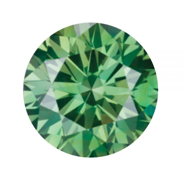 Australian Diamond Broker - Emerald green coloured diamond