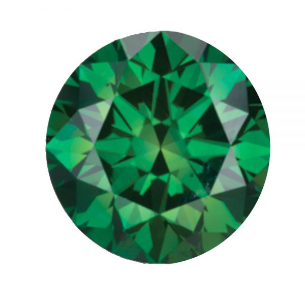 Australian Diamond Broker - Forest green coloured diamond