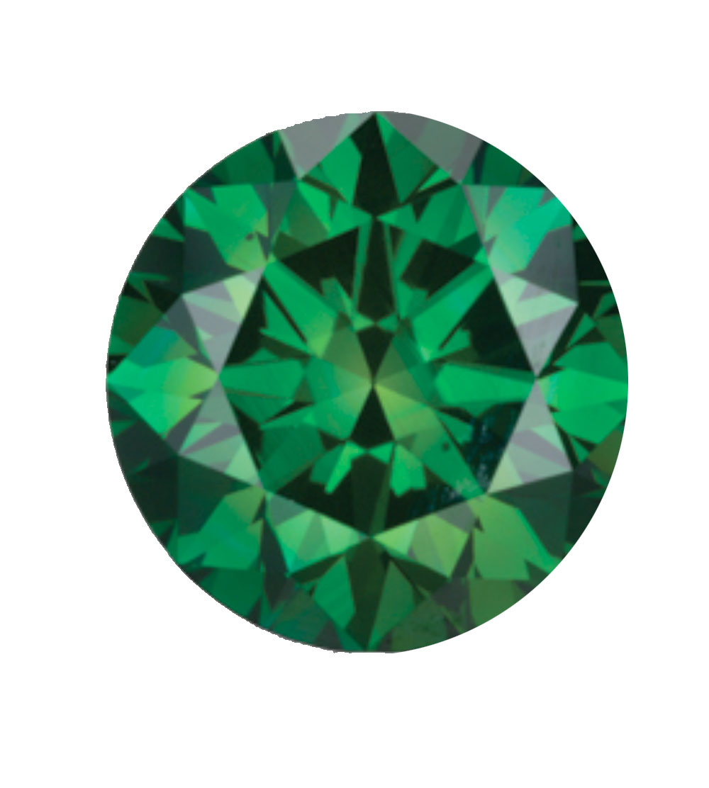 Australian Diamond Broker - Forest green coloured diamond