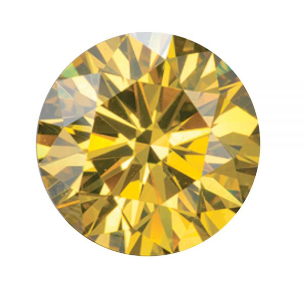 Australian Diamond Broker - Golden yellow coloured diamond