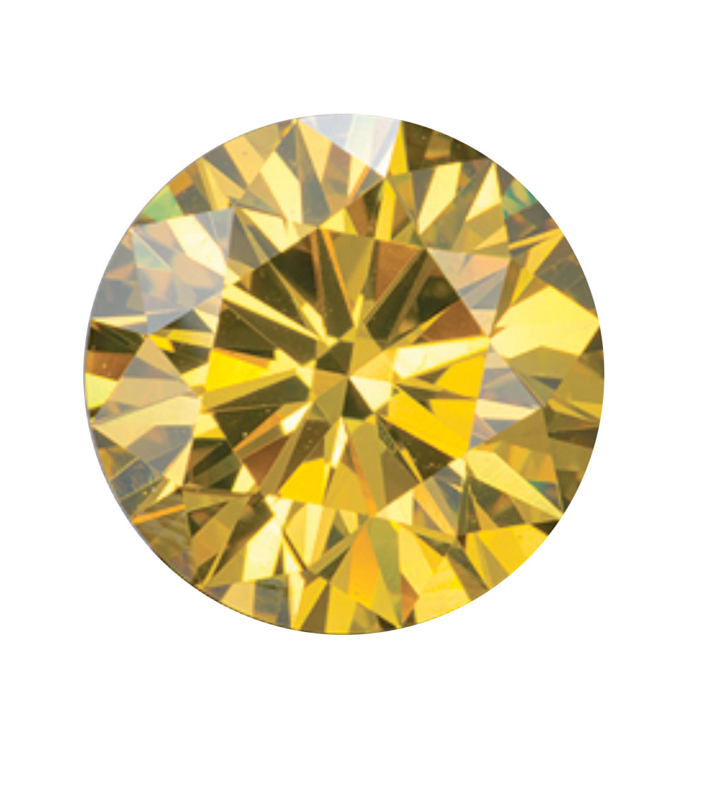 Australian Diamond Broker - Golden yellow coloured diamond