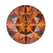 Australian Diamond Broker - Organish cognac coloured diamond
