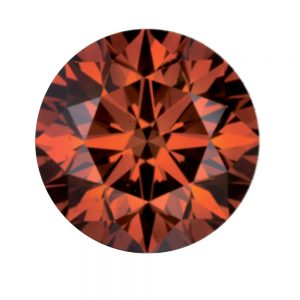 Australian Diamond Broker - Redish Cognac coloured diamond