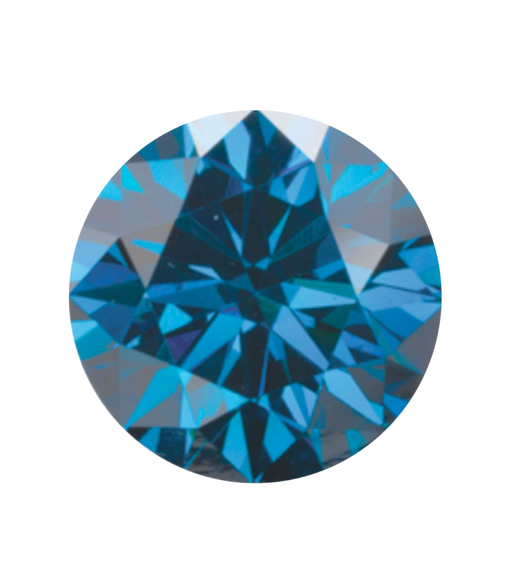 Australian Diamond Broker - Royal blue coloured diamond