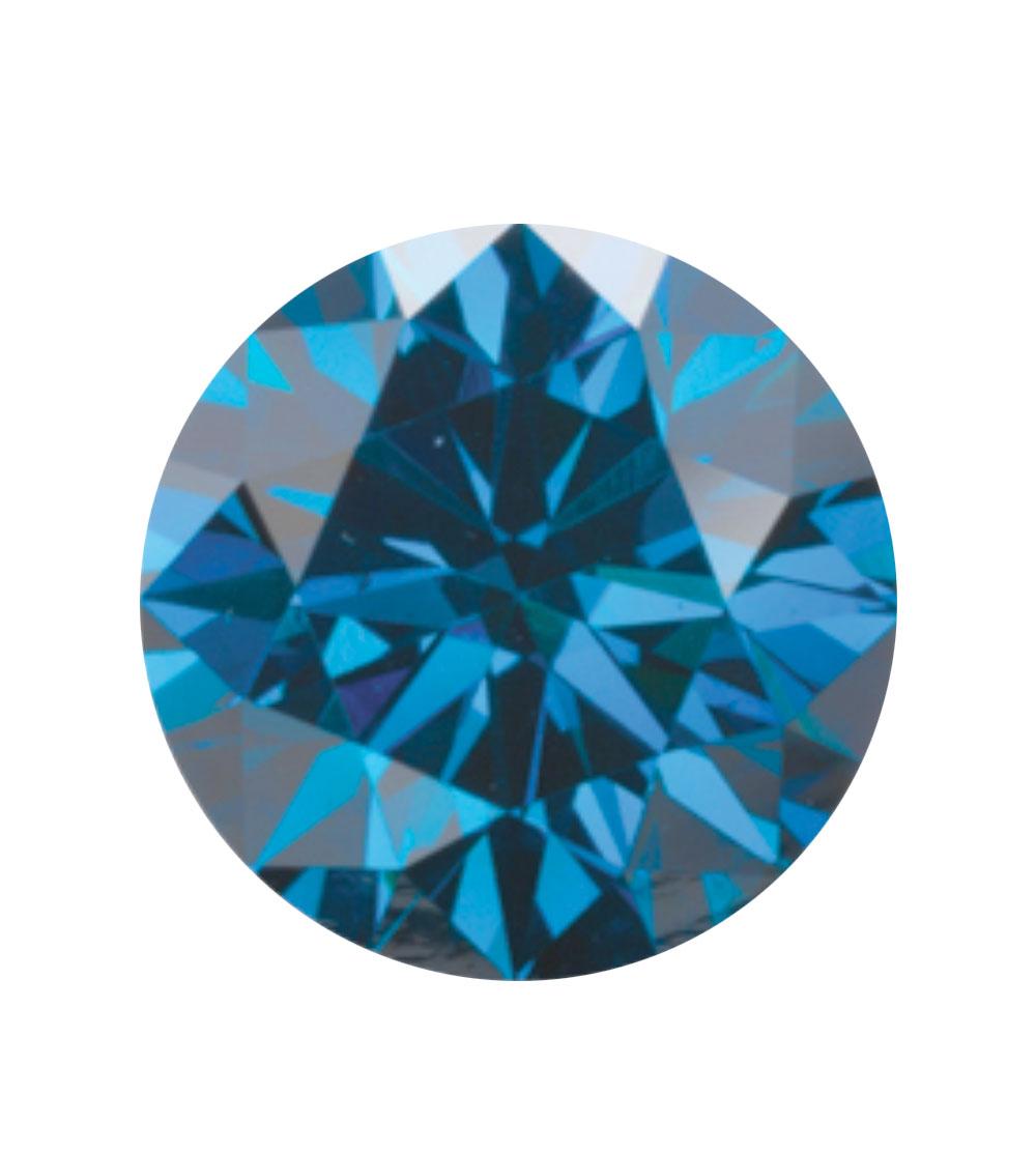 Australian Diamond Broker - Royal blue coloured diamond