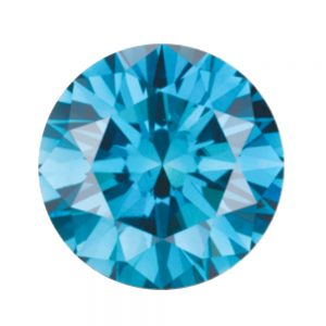 Australian Diamond Broker - Sky blue coloured diamond