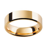Australian Diamond Broker - 18ct Yellow Gold Fine Traditional Flat Band